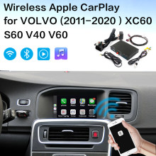 Draadloze Apple Carplay Volvo Android Auto Interface Decoder Voor Volvo (2015-2019)XC60 S60 V40 V60 Volvo Carplay(China)
