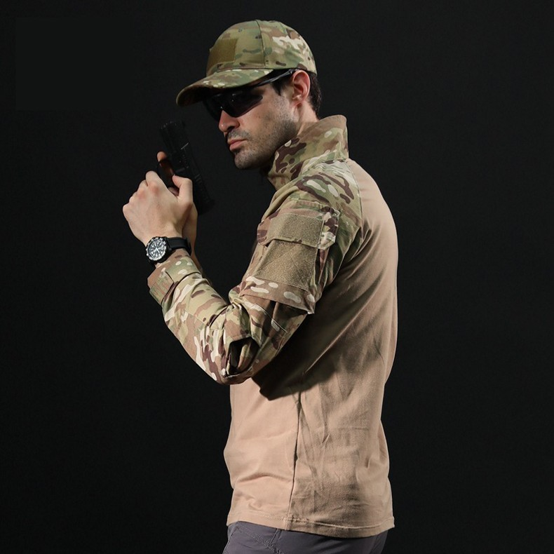 H4b6b44e2d7734fee92fcee3bcc1860086 - Men Outdoor Tactical Military Hiking T-Shirts Male Army Camouflage Long Sleeve Sports Shirt Breathable Hunting Fishing Clothes