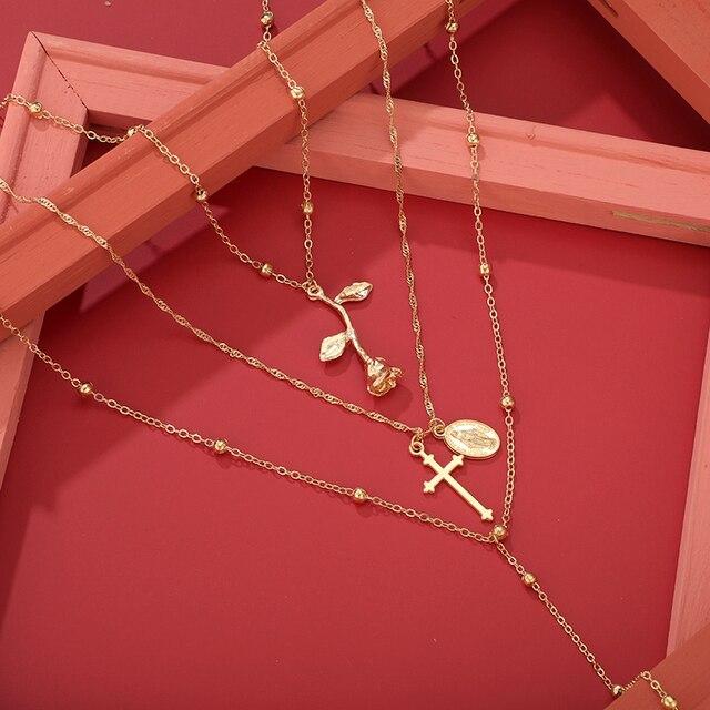 beautiful multiwrap beaded necklace 5