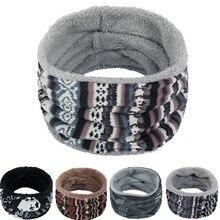 Модный роскошный женский шарф унисекс многоцветная полоса шеи Балаклава Флисовая Вязаная Шаль foulard femme