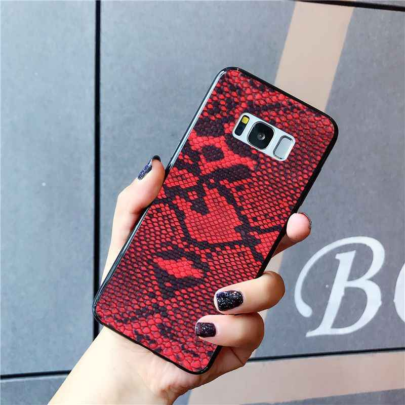 Babaite Da Rắn Nghệ Thuật Ốp Lưng Điện Thoại Samsung Galaxy S10E S7 Edge S9 S8 S10plus S6 S10Lite