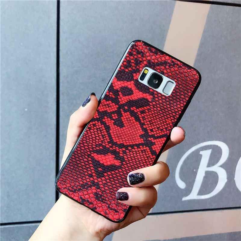 Babaite งูผิวโทรศัพท์กรณีศิลปะสำหรับ Samsung Galaxy S10E S7 EDGE S9 S8 S10plus S6 S10Lite
