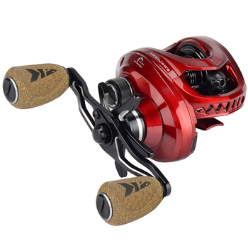 KastKing MegaJaws Baitcasting Reel Max Drag 8KG  11+1 BBS  Fishing Reel with 4 Gear Ratios from 5.4:1 to 9.1:1 Fishing Coil