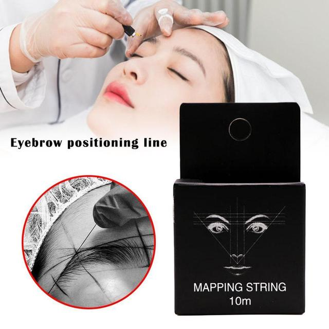 Pre-Inked Brow Mapping Strings pigment string For Microblading Mapping Permanent PMU For Eyebrow Brow Thread Makeup Accesso F0N8 2
