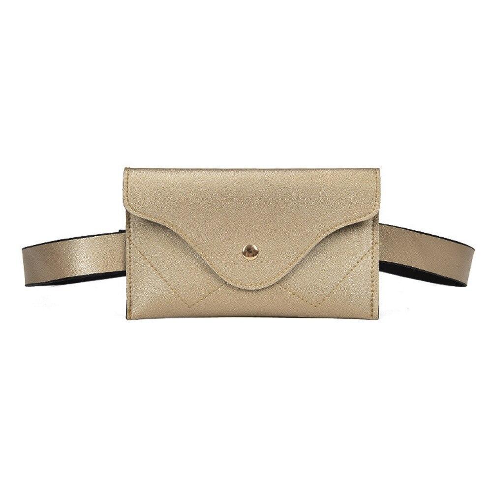 Girls New Design Color Women Sequins Shoulder Bag Zipper Chest Fanny Pack Waist Bag Adjustable Belt Portable 7 Color Chest Bag