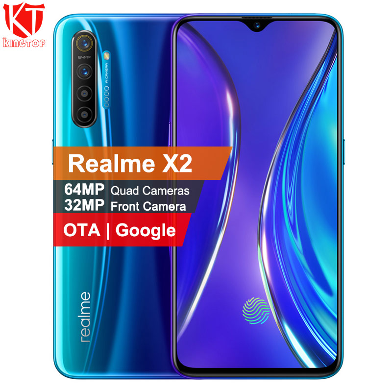 Original Realme X2 Mobile Phone 6.5