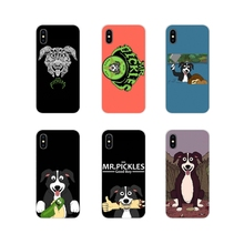 Funny Mr. Pickles Anime For Apple iPhone X XR XS 11Pro MAX 4S 5S 5C SE 6S 7 8 Plus ipod touch 5 6 Accessories Phone Cases Covers