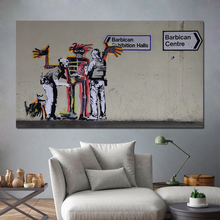 Classic Street Art Hot Sale Abstract Artwork Canvas Painting Modern Wall Art Posters Pictures For Home Living Room Decoration pop art alec monopoly hd canvas painting print living room home decoration modern wall art oil painting posters pictures artwork