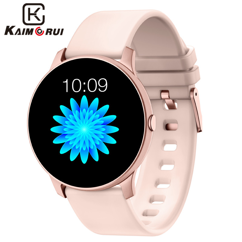 Smart Watch Female Sports Heart Rate Pedometer Bluetooth Fitness Bracelet Call Reminder Ladies Smart Watches For Android IOS