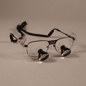 Image 1 - מותאם אישית 3X TTL משקפת שיניים זכוכית מגדלת רפואת שיניים כירורגי מגדלת זכוכית ניתוח פעולה זכוכית מגדלת 550 500 420 340mm