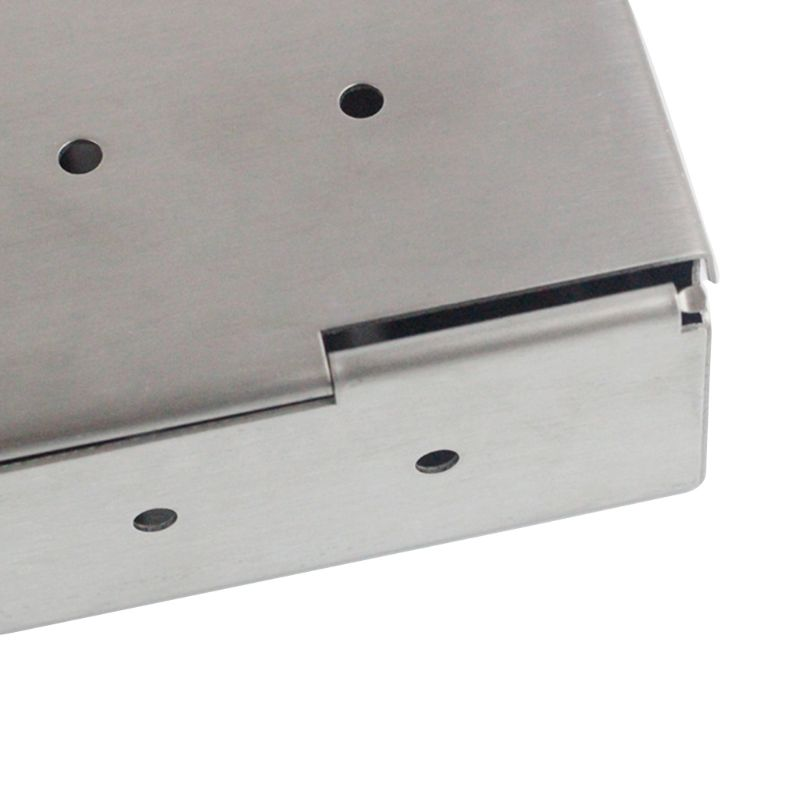 Нержавеющая сталь газовый гриль коптильня коробка древесный чип барбекю кухонная утварь аксессуары на открытом воздухе