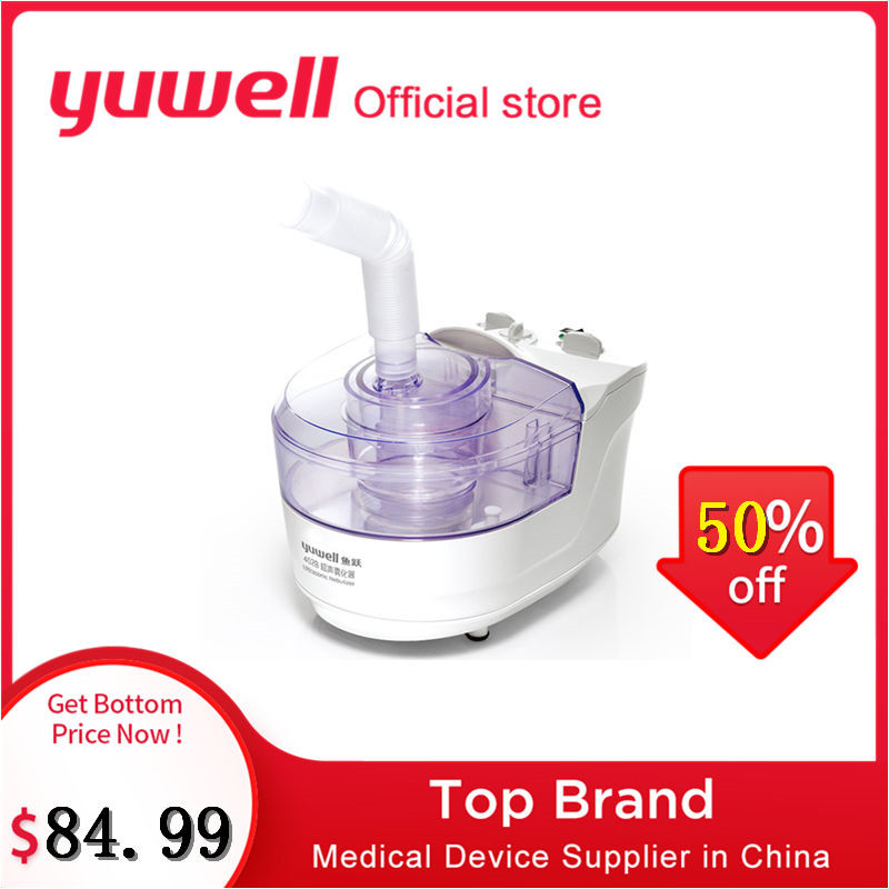 Yuwell 402B Ultrasonic Nebulizer Medical Inhaler Nebulizer Machine Inhalation Machine Atomizer Inhaler Medicated Nebulizer