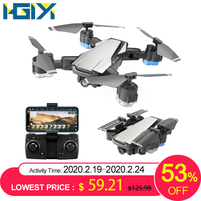 HGIYI G11 GPS RC Drone 4K HD Camera Quadcopter Optical Flow WIFI FPV With 50 Times Zoom Foldable Helicopter Professional Drones title=