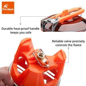 Image 5 - Fire Maple X2 Outdoor Gasfornuis Brander Toeristische Draagbare Koken Systeem Met Warmtewisselaar Pot FMS X2 Camping Wandelen Gas Fornuis