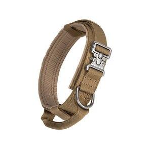 Image 3 - Uitstekende Elite Spanker Tactische Halsband K9 Nylon Verstelbare Training Halsband Metalen Gesp Withmetal Gesp Snelsluiting