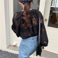 Черная блузка  #2