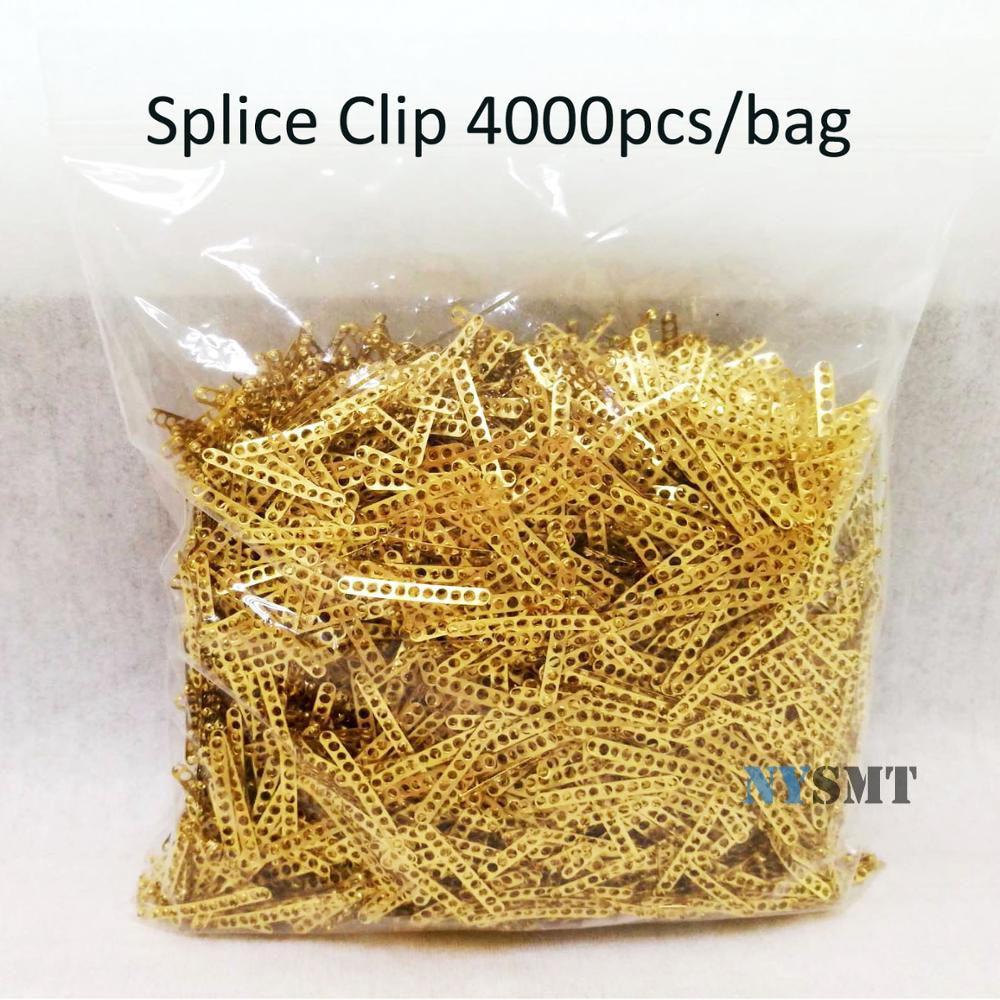 4000pcs /lot SMT Splice Clip Feeding Pliers Special Buckle Smt Splicing Tool For Smt Industry