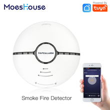 Detector Battery-Powered Wifi Smart Alarm Tuya App-Control Home-Security-System Wireless