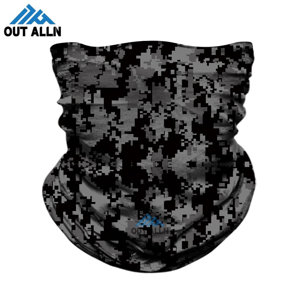 3D Camouflage Neck Gaiter Tactical Seamless Bandana Headband Camo Face Mask Army Military Outdoors Face Shield Hiking Tube Buffs