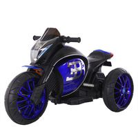Children's Electric Motorcycle Tricycle Child Toys Charging Car Ride on Toys for Boys and Girls Kids 3 Wheel Travel Cars