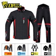 Veste de Moto imperméable et coupe-vent, combinaison de Protection pour Moto, pantalon pour 4 saisons