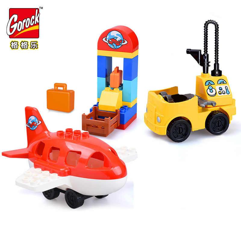 Bé Gái Công Chúa Lớn Kích Thước Khối Bộ Tương Thích Legoinglys Duploed Họ Nhà Gạch Gạch Khối Xây Dựng Đồ Chơi Dành Cho Trẻ Em