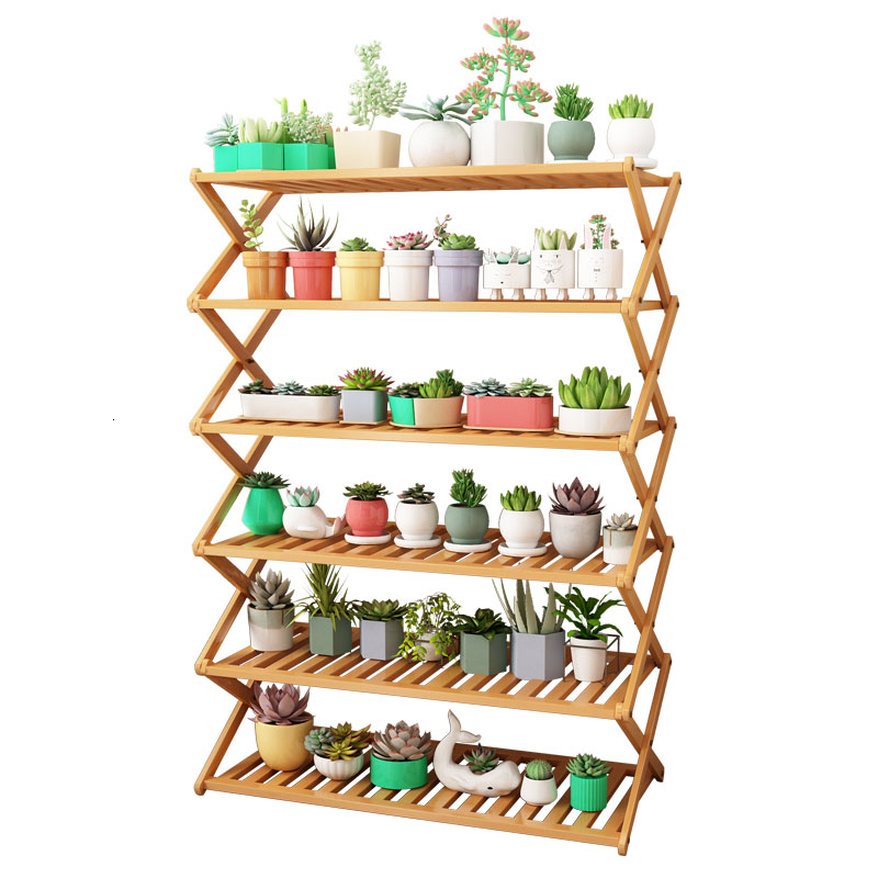 Indoor A Living Room Balcony Decorate Nanzhu Stands Are Full Of Meat To Ground Noodles Household Flowerpot Frame Solid Wood