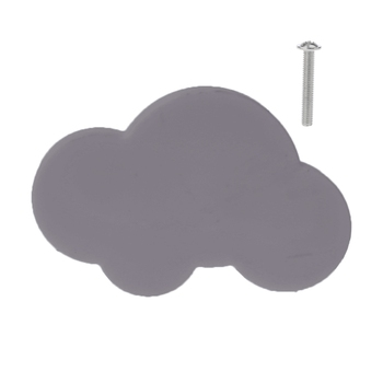 Children Anti-collision Handle Creative Door Wardrobe Drawer Furniture Handles Cartoon Star Moon Cloud Shape star furniture led