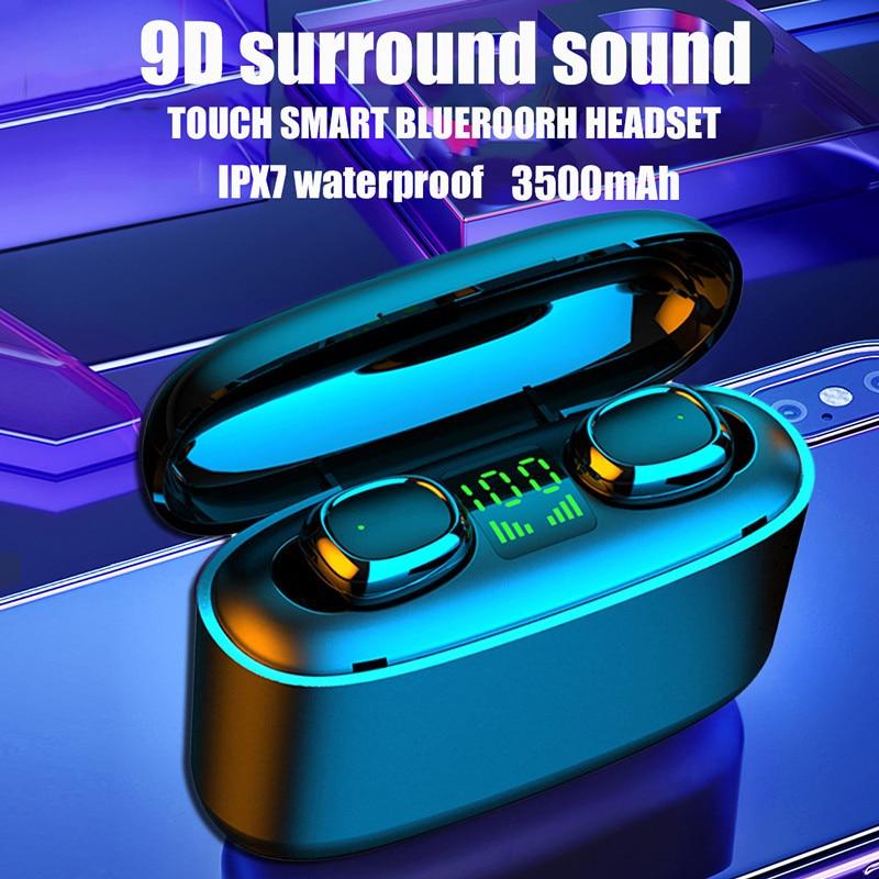 TWS-стереонаушники Sluchawki с поддержкой Bluetooth и защитой от воды