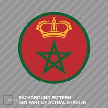 재미 있은 로얄 모로코 공군 Roundel 스티커 데칼 비닐 RMAF 모로코 MAR MA PVC 스티커 자동차 및 Motos 노트북