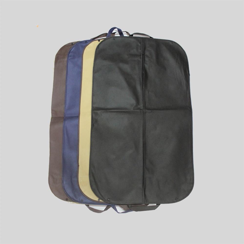 Dust-proof Storage Bags Coat Clothes Garment Suit Cover Durable Men Business Trip Travel Carrier Non-woven