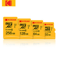 Kodak-tarjeta de memoria de alta velocidad, microSD de 100 MB/s, 128GB, 32GB, 64GB, Ultra TF, Clase 10, V30, U3, para cámara y teléfono