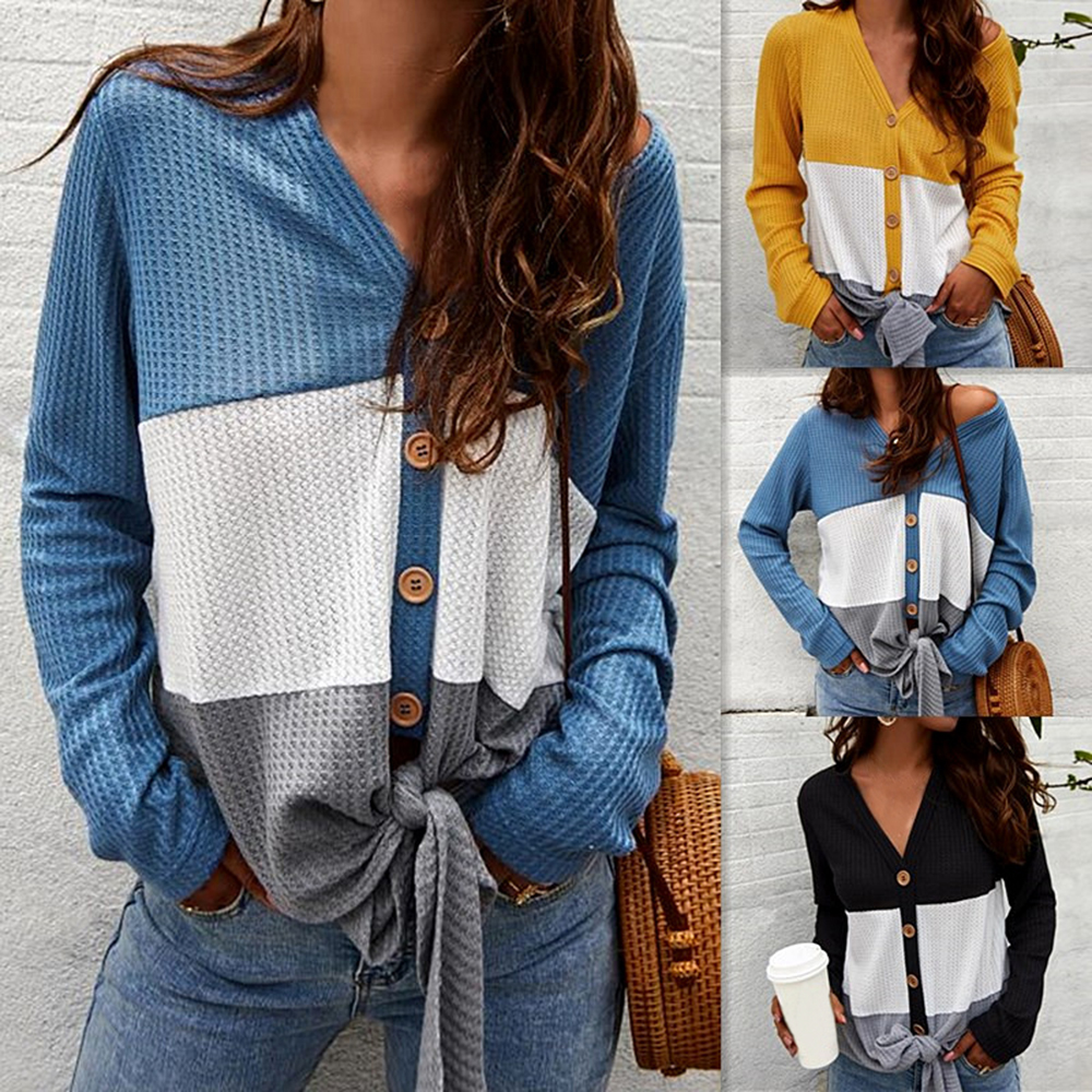 2020 Cardigan Sweater Women Single-breasted Slim Winter Clothes Knitted Sweaters Casual New Patchwork Modish Casaco Feminino