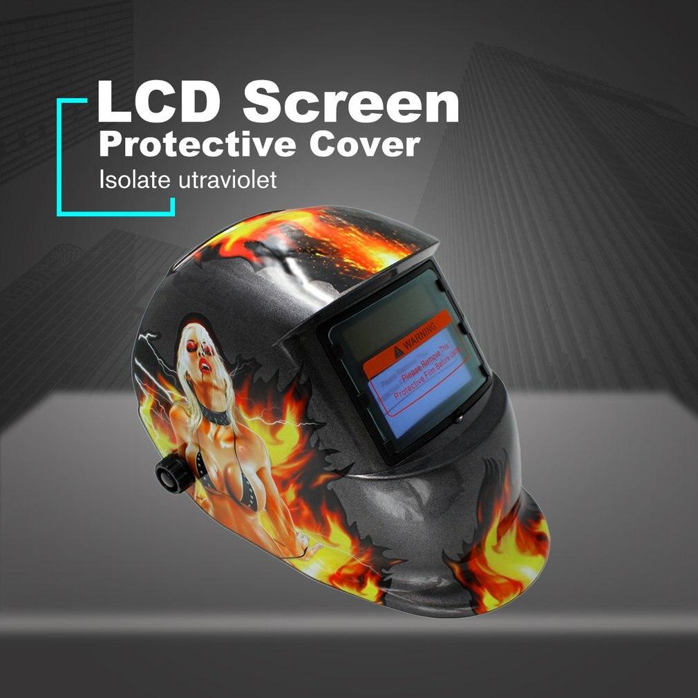 Variável automática máscara de solda fotoelétrica soldador