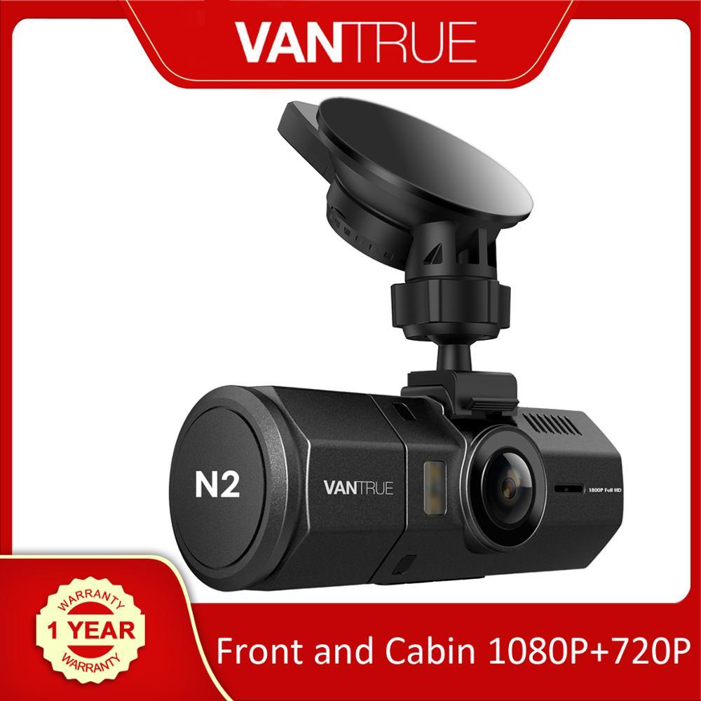 Видеорегистратор Vantrue N2 с двумя объективами, Автомобильный видеорегистратор с ЖК экраном 1,5 дюйма, 1080P, видеорегистратор с g датчиком, время работы в режиме парковки|Видеорегистраторы|   | АлиЭкспресс