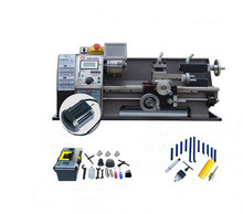WM180V 600W Brushless Motor Metal Lathe/21mm spindle hole stainless steel processing DIY Bench Lathe