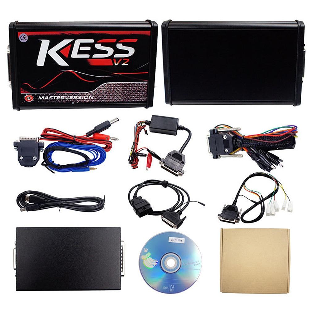 V2 V5.017 Online Version Keine Tokens Begrenzung V2.47 Kess V2 OBD2 Manager Tuning Kit Auto Lkw ECU Programmierer