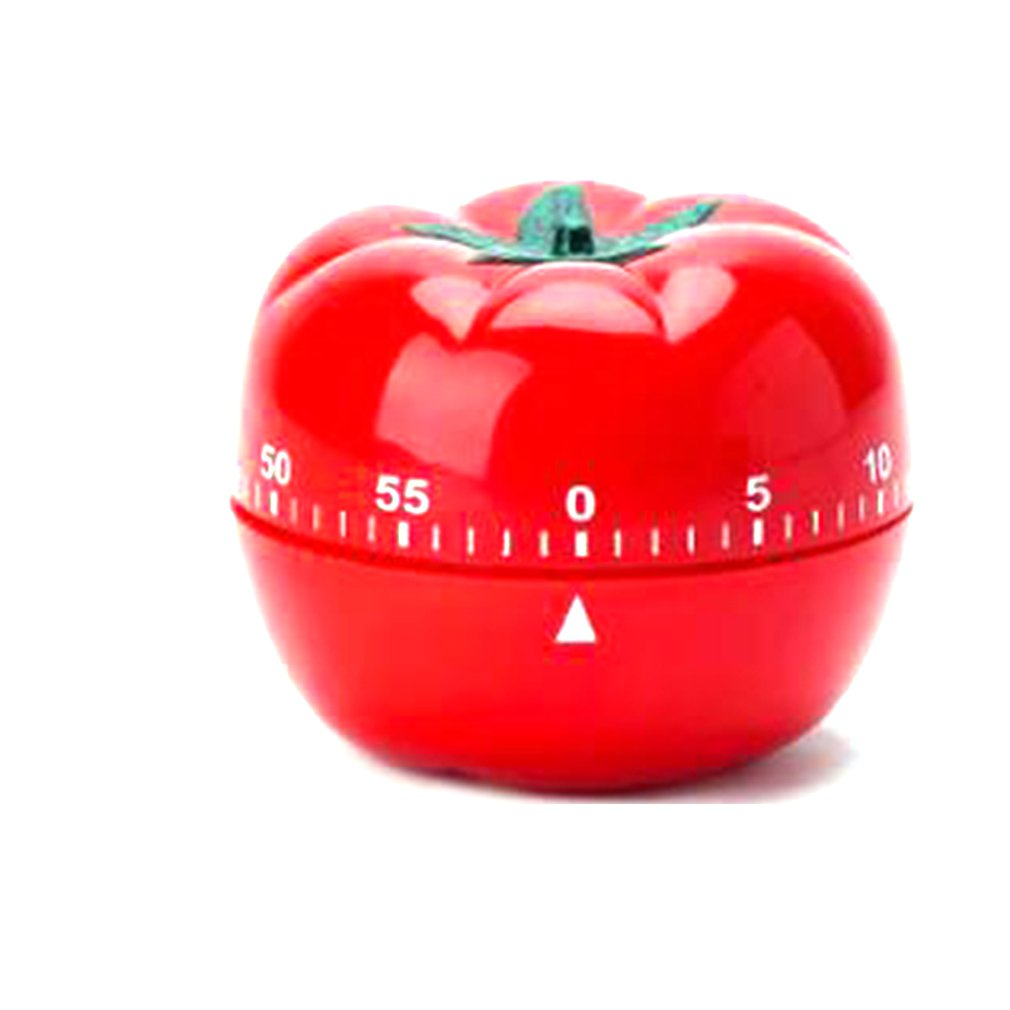 Portable 60 Minute Tomato Kitchen Machine Timer Cooking Countdown Countdown Alarm Clock Egg Cooking Assistant