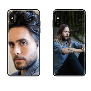 30 Seconds To Mars Jared Leto Les Nouvelle For Xiaomi Redmi Note 4 5 5A 6 7 8 8T 9 9S Pro Max Black Soft TPU Case Protective image
