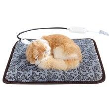 Bed Heating-Pad Warmer Waterproof for Dogs Cats Indoor 45--45cm Mat Pet-Dog-Cat
