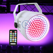 DMX Sound Disco Colorful light Strobe Stage Lighting Effect DJ Bar Holiday Party Christmas 127 LED RGB Light With Remote Control 4pcs lot 3d led naked eye honeycomb light dance floor dmx sd remote control stage lighting