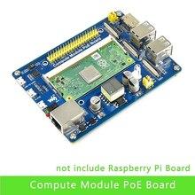 Moduł obliczeniowy płyta IO z funkcją PoE kompozytowa tabliczka zaciskowa do rozwijania z Raspberry Pi CM3 / CM3L / CM3 + / CM3 + L