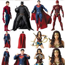 DC Legends Justice League Super Hero MAFEX MAF Batman Flash Wonder Woman Superma