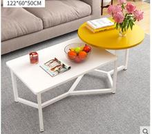 цена на Coffee table simple small apartment tea table living room simple modern small coffee table Nordic balcony side table dual-use te