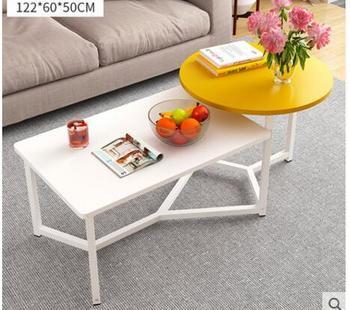 цена на Coffee table simple small apartment tea table living room simple modern small coffee table Nordic balcony side table dual-use te