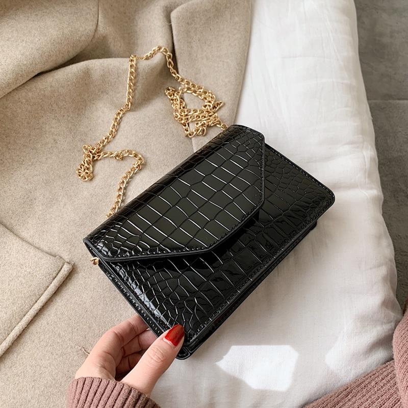 Women Stone Leather Evening Clutch Bags Green Stone Pattern Handbag Women Shoulder Bags Bolsas Wristlet Party Wallet