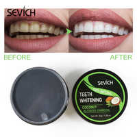 Sevich 30g Teeth Whitening Powder Smoke Coffee Tea Stain Remove Bamboo Activated Charcoal Powder Oral Hygiene Dental Tooth Care