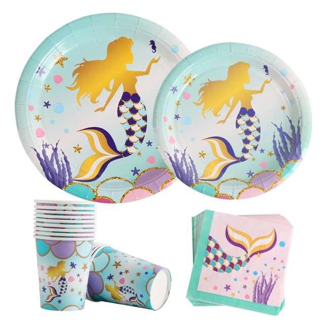 Romantic  Mermaid Party Decorations & Supplies