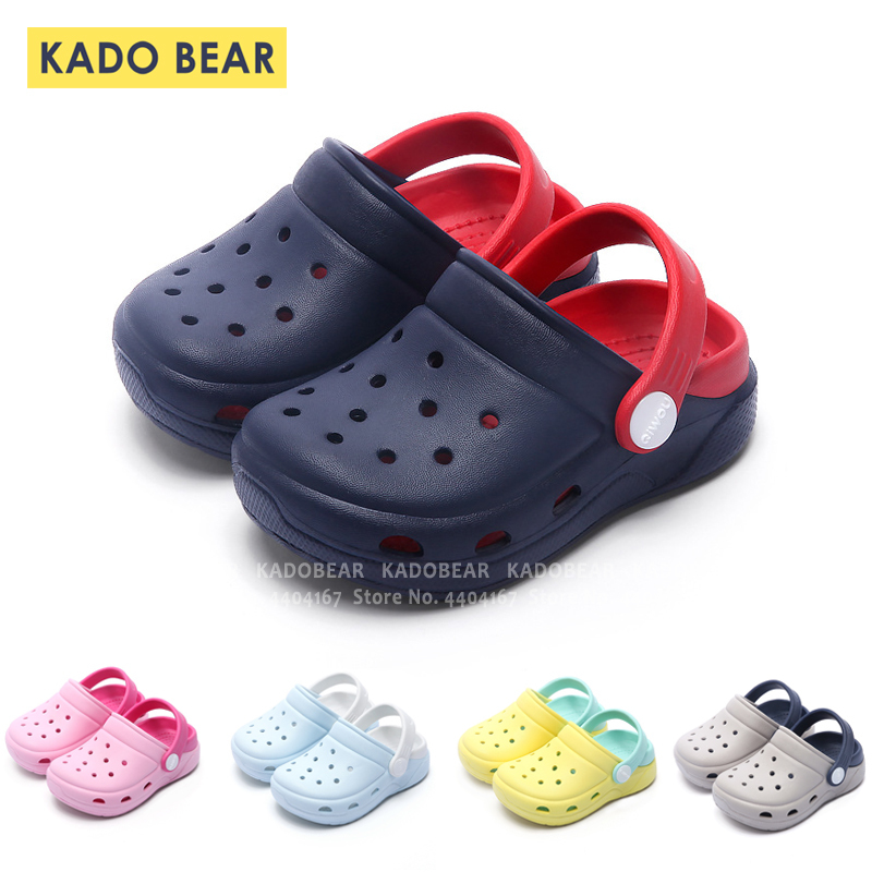 Summer Kids Boy Fashion Cave Garden Shoes Baby Girl Home Indoor Barefoot Slippers Children Beach Water Outdoor Flip Flops Sandal