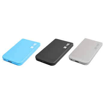 2.5 inch Hard Drive Case SATA to USB 3.0 HDD SSD Enclosure Tool Free for PC Computer Laptop